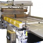 Liquid bag production line