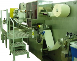 Low tension coating machine