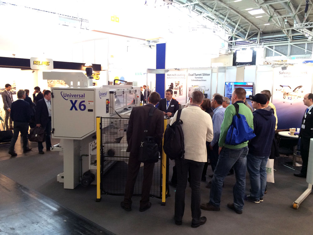 ICE Europe 2015 - Universal Slitter crowd