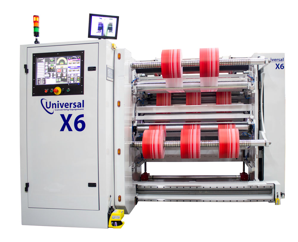 X6 slitter machine